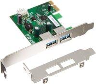Card PCI-E 1X to USB 3.0 2Port Buffalo 2U3S2