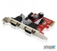 Card PCI-E to RS232 2 Port Unitek Y-7504