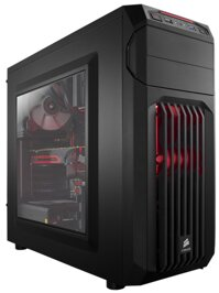Case Corsair Carbide Series® SPEC-01 Red LED Gaming (Mid Tower)