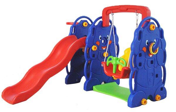 Cầu trượt xích đu con voi VS3