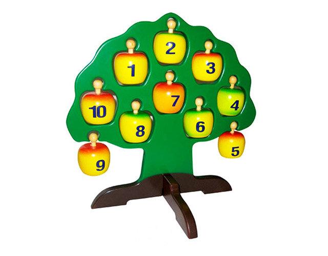 Cây táo học chữ và số Edugames GA543