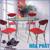 Bộ bàn ăn kính Hòa Phát B47 (G47)