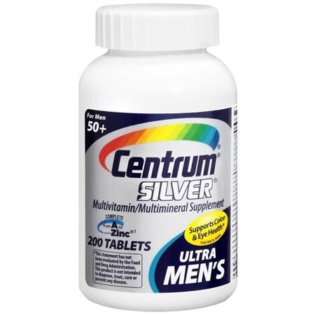 Centrum Silver Ultra Men's 50+ 250 viên – Vitamin đàn ông trên 50 tuổi