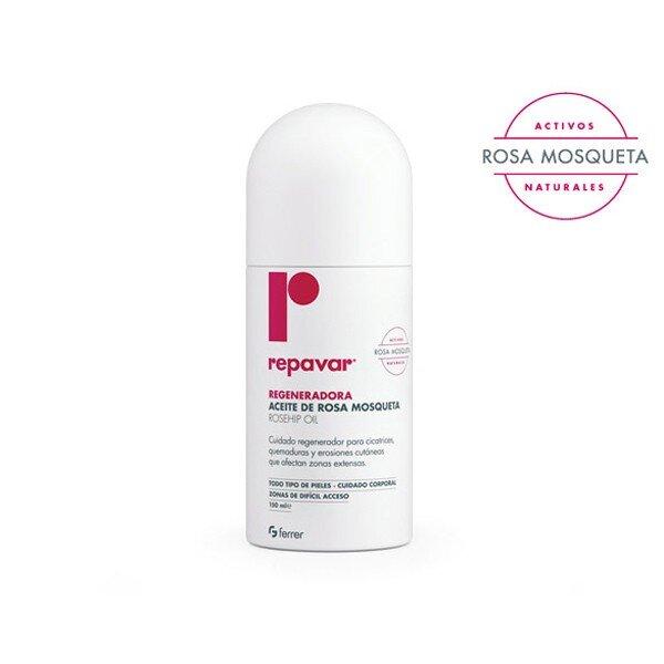 Chai xịt làm lành vết thương Repavar Regeneradora Rosehip Oil Spray 150ml