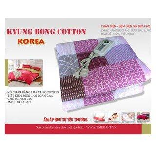 Chăn điện Hàn Quốc Kyungdong Cotton cao cấp mới