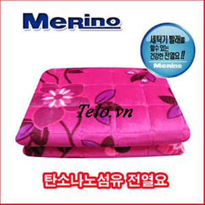 Chăn điện sưởi Merino Hàn Quốc