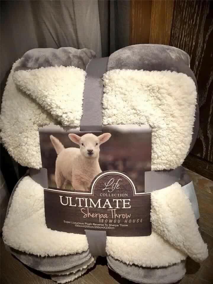 Chăn lông cừu Ultimate Sherpa Throw - 200 x 230 cm