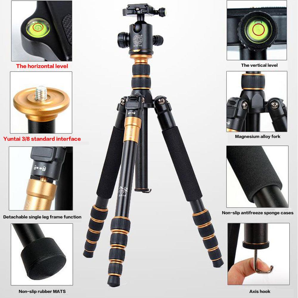 Chân máy ảnh chuyên nghiệp Tripod Beike Q668