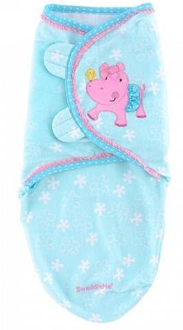 Chăn quấn bé hình hà mã hồng Summer Infant 12269