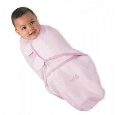 Chăn quấn bé Summer Infant Swaddleme Pink 73730A