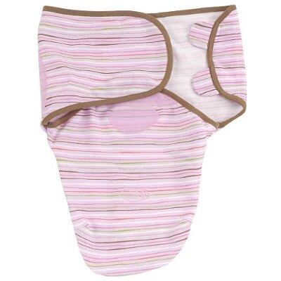Chăn quấn bé Summer Infant Swaddleme Cotton Stripe
