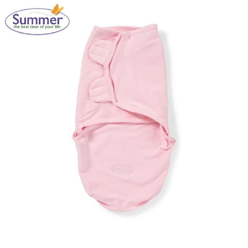 Chăn quấn nỉ Summer SM73530A màu hồng size S