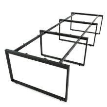 Chân sắt bàn cụm 6 hệ Rectang 120x360cm lắp ráp HCRT014