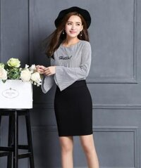 Chân váy Hàn Quốc xếp ly CV22