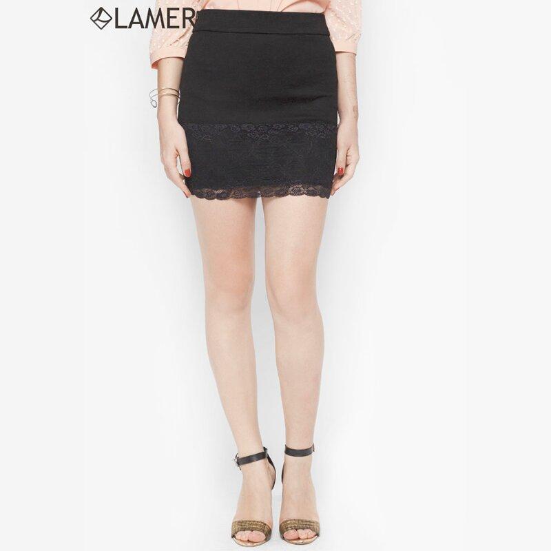 Chân váy ôm phối ren thời trang Lamer LMT02603714