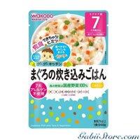 Cháo cá ngừ wakodo 7th cá ngừ và rau