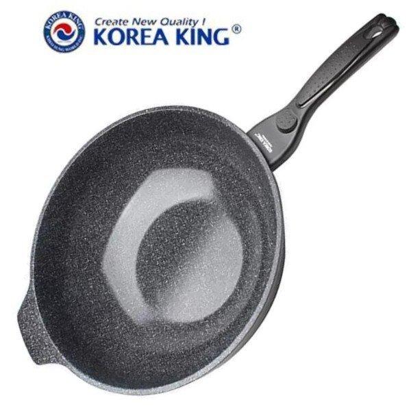 Chảo chống dính phủ gốm Korea King KFP-32CL 32cm