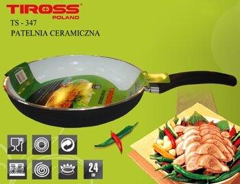 Chảo rán chống dính Tiross Ceramic TS-347 - 24cm