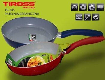Chảo rán chống dính Tiross Ceramic TS345 phi 24cm