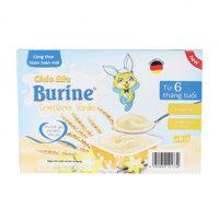 Cháo sữa Burine vị vani và bích quy cho bé từ 6 tháng (lốc 6 hũ x 50g)