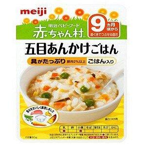 Cháo thịt bò và rau củ Meiji 9th