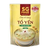 Cháo tươi SG Food vị tổ yến, hạt sen lá dứa- 270g (Trên 6 tháng)