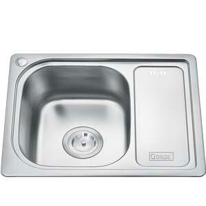 Chậu rửa bát 1 hố có bàn Gorlde GD020 (GD-020)