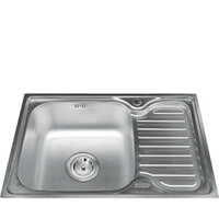 Chậu rửa bát 1 hố có bàn Gorlde GD0292 (GD-0292)