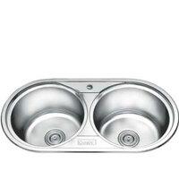 Chậu rửa bát 2 hố cân Gorlde GD5903 (GD-5903)