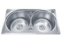 Chậu rửa bát 2 hố cân Gorlde GD5902 (GD-5902)
