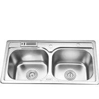 Chậu rửa bát 2 hố cân Gorlde GD5612 (GD-5612)