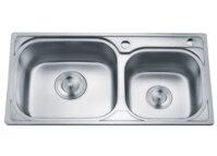 Chậu rửa bát 2 hố lệch Gorlde GD5102 (GD-5102)
