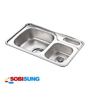 Chậu rửa bát cao cấp SOBISUNG PSD-880
