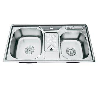 Chậu rửa bát inox cao cấp Picenza PZ99046B (PZ9-9046B)