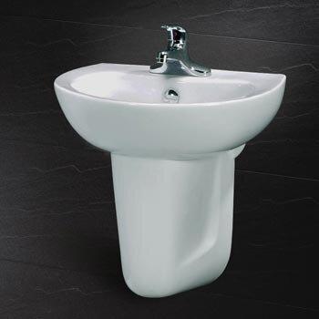 Chậu rửa chân lửng Caesar L2150+P2441