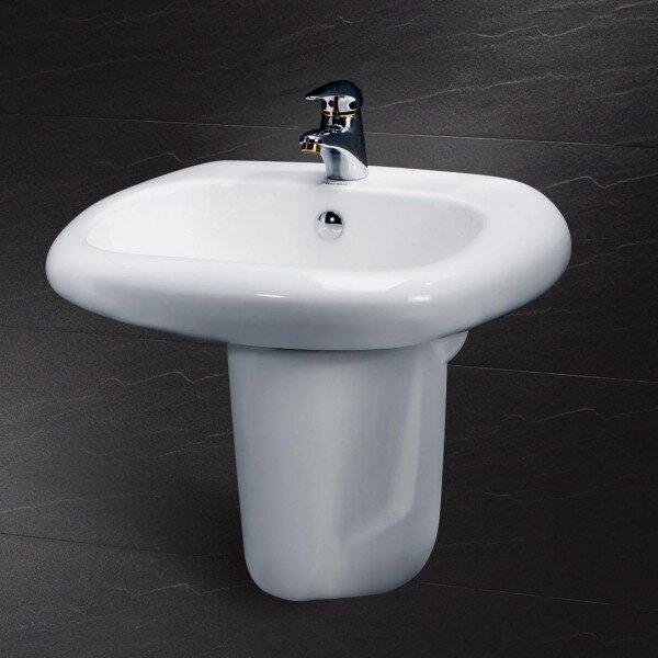 Chậu rửa chân lửng Caesar L2560 +P2441