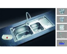 Chậu rửa chén cao cấp Keli H7506F
