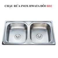 Chậu rửa inox Hwata BD2