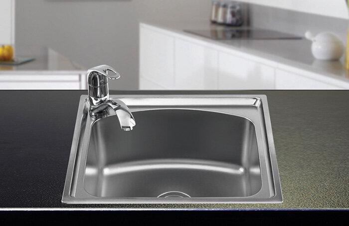 Chậu rửa Inox Sơn Hà S50