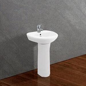 Chậu rửa lavabo treo tường và chân Viglacera TE