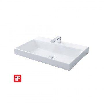 Chậu rửa mặt đặt bàn Toto LW1617C