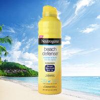 Chống nắng dạng xịt dành cho đi biển/ hồ bơi Neutrogena beach defense water+sun SPF70