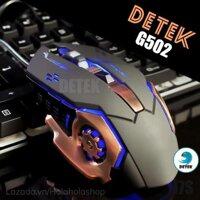 Chuột chơi game Detek G502, có dây