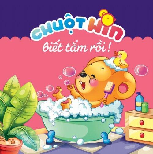 Chuột Hin biết tắm rồi