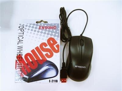 Chuột quang có dây Ensoho E-211B