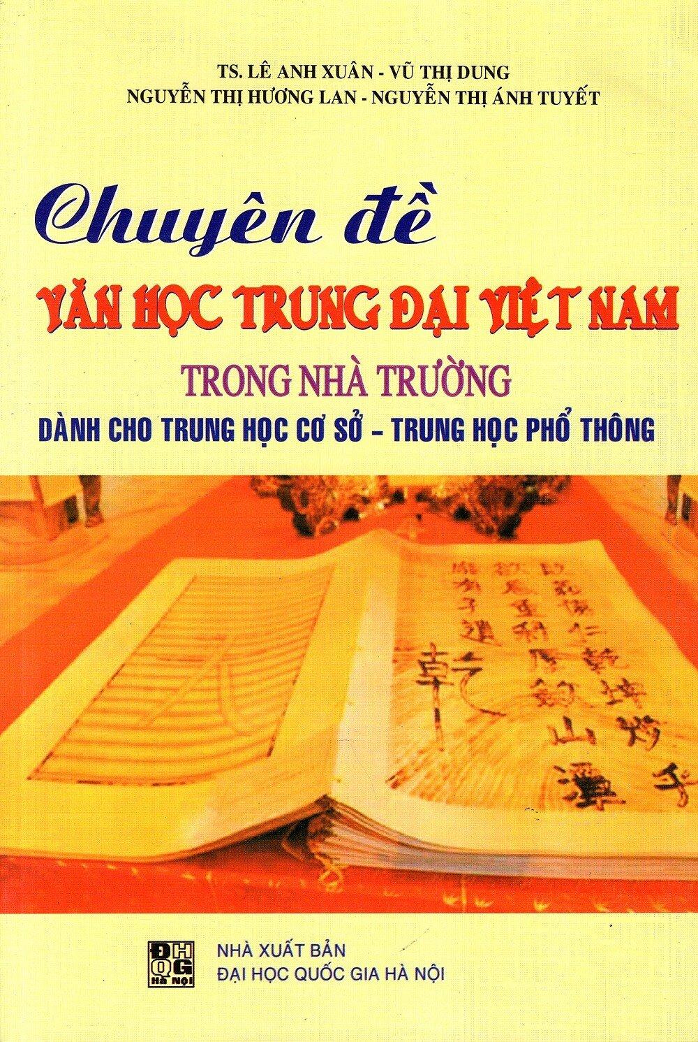 Chuyên Đề Văn Học Trung Đại Việt Nam Trong Nhà Trường