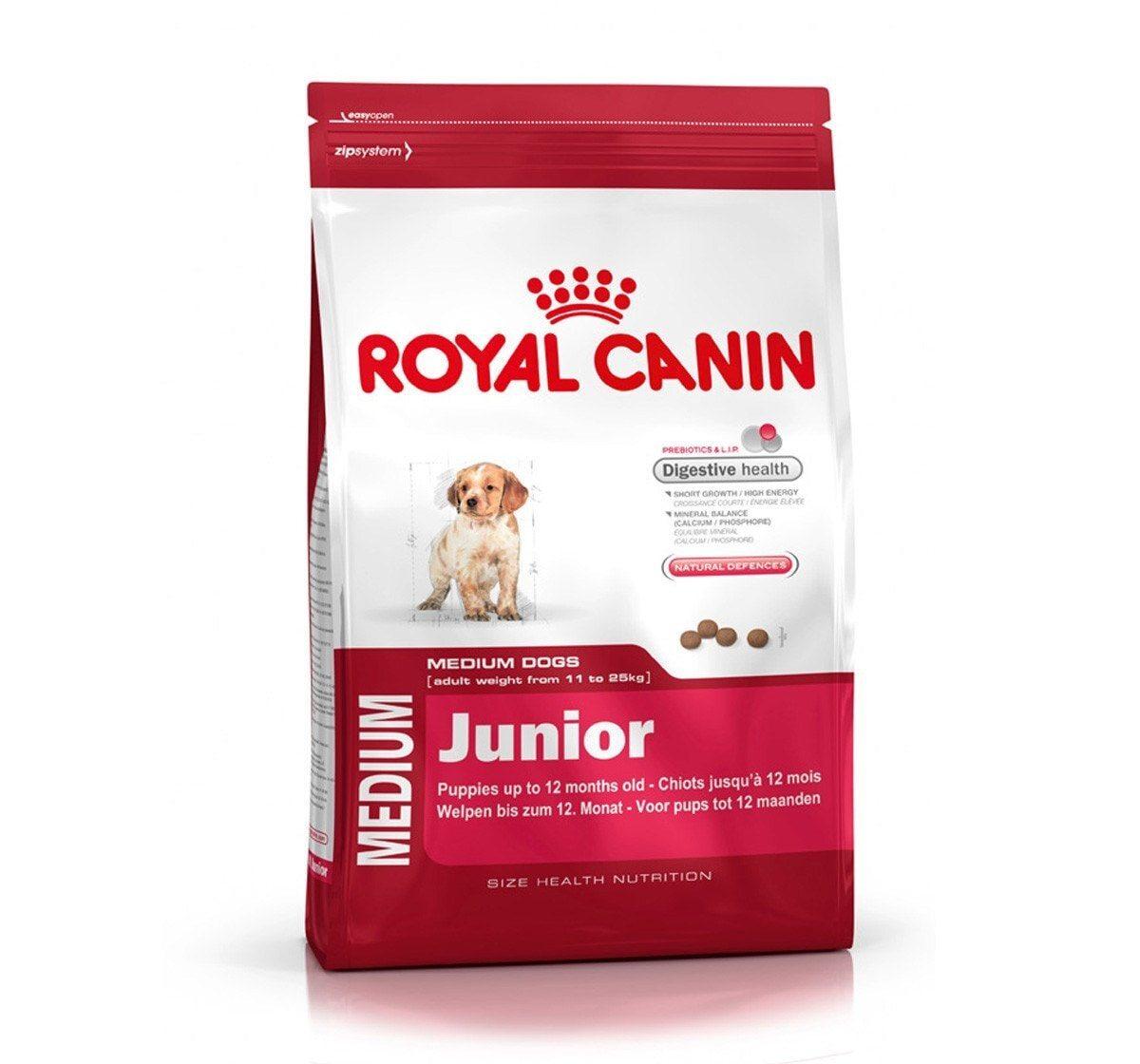 Thức ăn cho chó Con Royal Canin Medium Junior - 10 kg, dành cho chó 11...