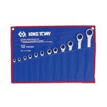 Cờ lê vòng miệng 12 cái hệ mét Kingtony 12112MR