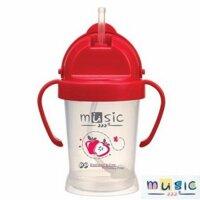 Cốc ống hút có nắp đậy MUSIC 24310 - 200ml (8 tháng+)