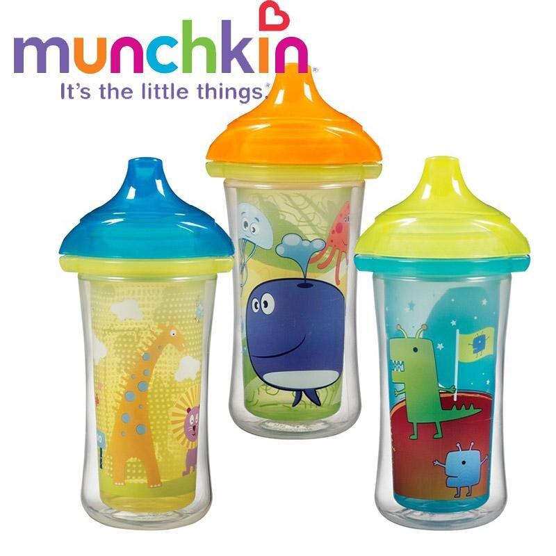Cốc tập uống giữ nhiệt Munchkin 15401